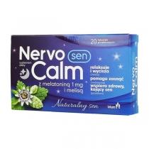 Unetabletid NervoCalm Sleep (melatoniiniga) N20