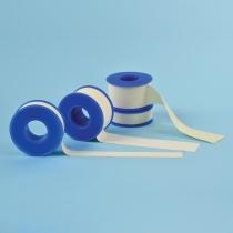 SENSIplast rullplaaster, tekstiilist, valge, sakilise servaga 5cm x 5m N1